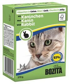 Корм для кошек Bozita Feline chunks in jelly with Rabbit (0.37 кг) 1 шт.