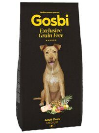 Корм для собак Gosbi grain free adult duck medium (0.5 кг)