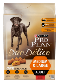 Корм для собак Purina Pro Plan Duo Delice Adult сanine rich in Beef with Rice dry 10 кг