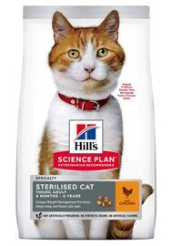 Корм для кошек Hill's (0.3 кг) Science Plan Feline Sterilised Cat Young Adult Chicken
