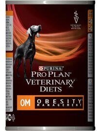 Корм для собак Pro Plan Veterinary Diets Canine OM Obesity (Overweight) Management canned (0.4 кг) 1 шт.