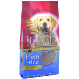 Корм для собак Nero Gold Adult Fish & Rice 12 кг