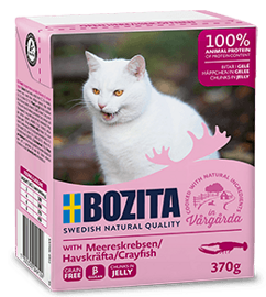 Корм для кошек Bozita Feline chunks in jelly with Crayfish (0.37 кг) 1 шт.