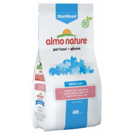 Корм для кошек Almo Nature (0.4 кг) Functional Adult Sterilised Salmon and Rice