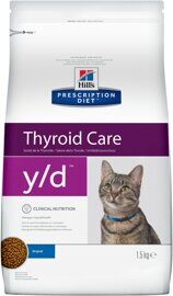 Корм для кошек Hill's Prescription Diet Y/D Feline Thryroid Health dry 1.5 кг
