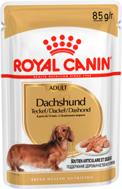 Корм для собак Royal Canin Dachshund Adult (паштет) (0.085 кг) 1 шт.