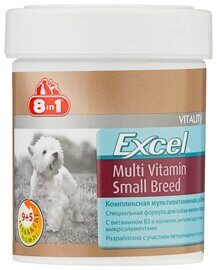 Добавка в корм 8 In 1 Excel Multi Vitamin Small Breed для собак мелких пород (70 шт.)