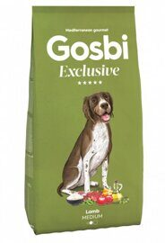 Корм для собак Gosbi exclusive lamb medium (3 кг)