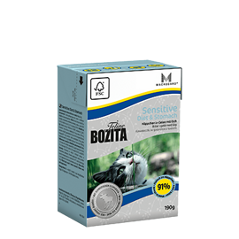 Корм для кошек Bozita Feline Funktion Sensitive Diet & Stomach wet food (0.19 кг) 1 шт.