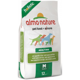 Корм для собак Almo Nature (2 кг) Holistic Adult Dog Medium Lamb and Rice