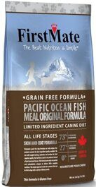 FirstMate Pacific Ocean Fish Meal Original корм беззерновой для собак с рыбой 20 кг