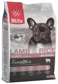 Корм для собак Blitz Puppy Lamb & Rice All Breeds dry (0.5 кг)
