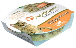 Корм для кошек Applaws Cat Juicy Chicken Breast with Duck layer pot (0.06 кг) 1 шт.