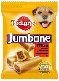 Лакомство для собак Pedigree Jumbone Mini говядина 180 г