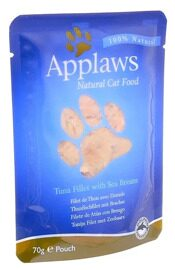 Корм для кошек Applaws Cat Pouch Tuna Fillet with Sea Bream (0.07 кг) 1 шт.