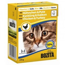 Корм для кошек Bozita Feline chunks in sauce with Chicken & Turkey (0.37 кг) 1 шт.