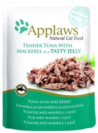 Корм для кошек Applaws Cat Pouch Tender Tuna with Mackerel in a tasty jelly (0.07 кг) 1 шт.