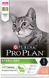 Корм для кошек Purina Pro Plan Sterilised feline rich in Salmon dry 1.5 кг