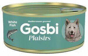 Корм для собак Gosbi plaisirs white fish (0.185 кг) 1 шт.