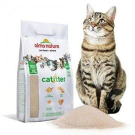 Almo Nature Cat Litter комкующийся наполнитель для кошачьего туалета 100% натуральный биоразлагаемый 2.27 кг