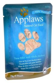 Корм для кошек Applaws Cat Pouch Tuna Fillet with whole Anchovy (0.07 кг) 1 шт.