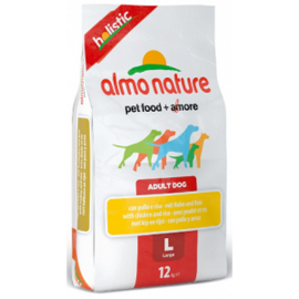 Корм для собак Almo Nature (12 кг) Holistic Adult Dog Large Chicken and Rice
