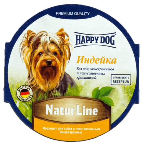 Корм для собак Happy Dog NaturLine индейка 85 г