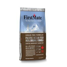 FirstMate Pacific Ocean Fish Meal Original корм беззерновой для собак с рыбой 6,6 кг