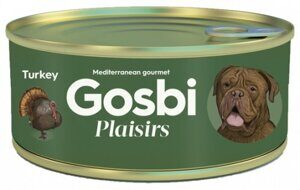 Корм для собак Gosbi plaisirs turkey (0.185 кг) 1 шт.