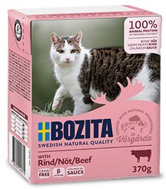 Корм для кошек Bozita Feline chunks in sauce with Beef (0.37 кг) 1 шт.