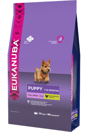 Корм для собак Eukanuba Puppy Dry Dog Food For Small Breed Chicken 800 г