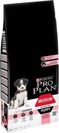 Корм для собак Purina Pro Plan Medium Puppy сanine Sensitive Skin OptiDerma Salmon with Rice dry 1.5 кг