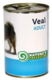 Корм для собак Nature's Protection Консервы Dog Adult Veal (0.4 кг) 1 шт.