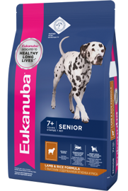 Корм для собак Eukanuba Mature & Senior Dry Dog Food For All Breeds Lamb & Rice 2.5 кг