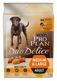Корм для собак Purina Pro Plan Duo Delice Adult сanine rich in Chicken with Rice dry 10 кг