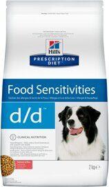 Корм для собак Hill's Prescription Diet D/D Canine Skin Support Salmon & Rice dry 2 кг