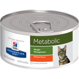 Корм для кошек Hill's (0.156 кг) 1 шт. Prescription Diet Metabolic Feline canned