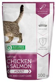 Корм для кошек Nature's Protection Skin and Coat Care with Chicken & Salmon (0.1 кг) 1 шт.