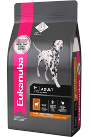 Корм для собак Eukanuba Adult Dry Dog Food For Small & Medium Breed Lamb & Rice 1 кг