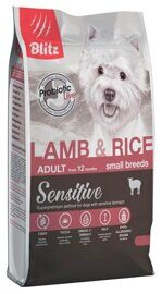 Корм для собак Blitz Adult Dog Lamb & Rice Small Breeds dry (0.5 кг)