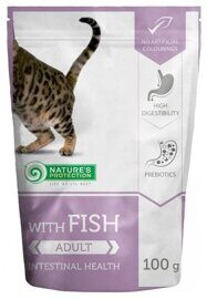 Корм для кошек Nature's Protection Intestinal Health with Fish (0.1 кг) 1 шт.