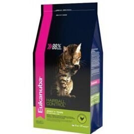 Корм для кошек Eukanuba (0.4 кг) Adult Dry Cat Food Hairball Control Chicken