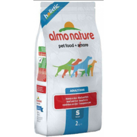 Корм для собак Almo Nature Holistic Adult Dog Small Beef and Rice (0.4 кг)