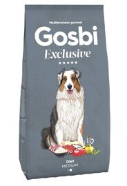 Корм для собак Gosbi exclusive diet medium (3 кг)