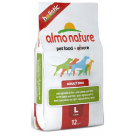 Корм для собак Almo Nature (12 кг) Holistic Adult Dog Large Lamb and Rice