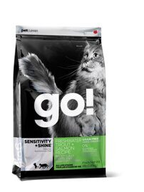 Корм для кошек GO! Sensitivity + Shine Trout+Salmon Cat Recipe, Grain Free 7.26 кг