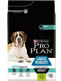 Корм для собак Purina Pro Plan Large Robust Adult canine Sensitive Digestion Lamb with rice dry 14 кг