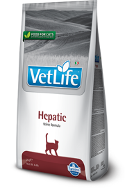 Корм для кошек Farmina Vet Life Feline Hepatic (0.4 кг)
