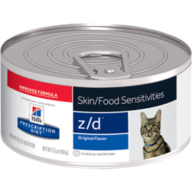Корм для кошек Hill's (0.156 кг) 1 шт. Prescription Diet Z/D Feline Allergy Management canned
