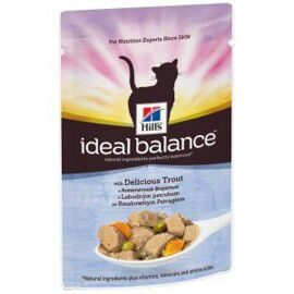 Корм для кошек Hill's Ideal Balance Feline Adult with Delicious Trout wet (0.085) 1 шт